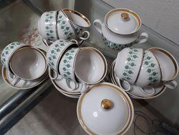 чайный сервиз на 11 персон
