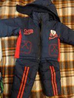 Зимний тёплый костюм (комбинезон) на мальчика
