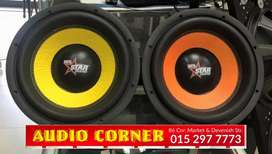 Starsound Subs Available At Audio Corner