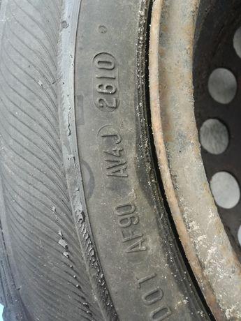 Koła zimowe Opel 4x100 Semperit 185/60/15 Łódź - image 4