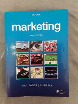 Marketing   3rd edition   Baines & Fill