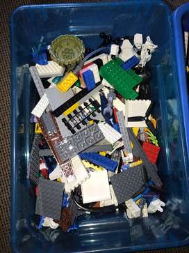 Two boxes of assorted legos. Negotiable