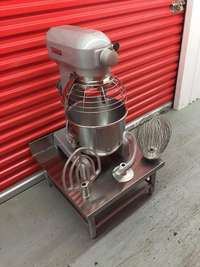 Image of Hobart 20 Qrt Mixer Guarded With 3 Attachment