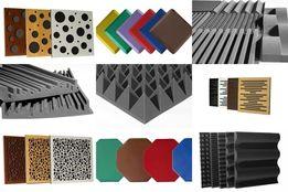 Акустический поролон пирамида плиты шумо-виброизоляционные Macsound