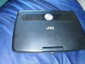 JVC PORTABLE DVD PLAYER