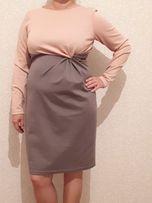 Платье для беременных в деловом стиле (48-50 р.)