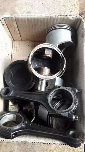Opel corsa or astra pistons and conrods