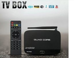 TV Box Andoer F7 Android 4.4,Wi-Fi/LAN,1Gb/8Gb, четыре ядра