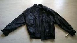 мужская кожаная куртка, новая