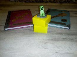 książki mincraft dla wojowników i budowniczych figurka gratis