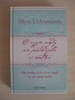 O czym nigdy nie powiedziała ci matka - O. Lichtenstein - książka-NOWA