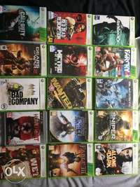 Image of Assorted Xbox 360 games