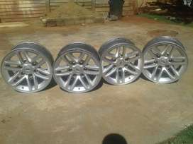 Ford Everest rims