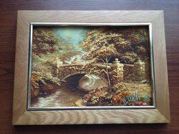 Картина с янтаря