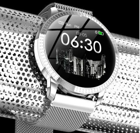 Фитнес браслет LEMFO CF18 с цветным екраном, тонометром давления крови Львов - изображение 5