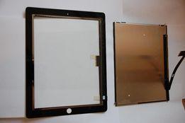 Ремонт замена сенсор-экран (Touch) Apple iPad 3/4 , белый/черный цвет
