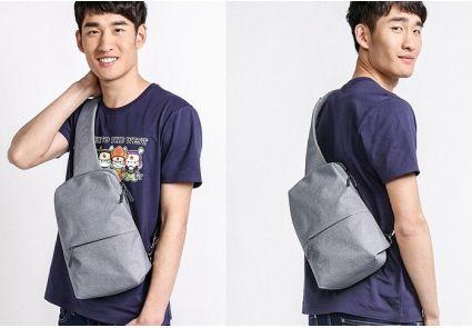 Рюкзак Xiaomi Mi City Sling Bag Light Grey Кропивницкий - изображение 5