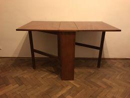 Stół składany na wysoki połysk lata 60'