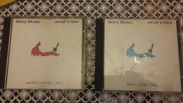 Dwie bardzo rzadkie płyty kompaktowe z 1991 r.