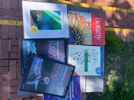 Biochemistry, microbiology chemistry and Physiology textbooks
