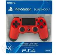 PS4 pad controllers Red 0
