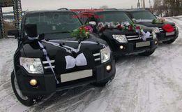 ВЕСІЛЬНІ КОРТЕДЖИ з автомобілів Mitsubishi Pajero Wagon 2010 року