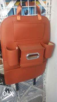 Leather Car seat back holders 0