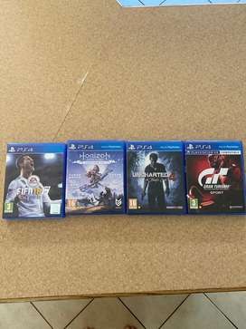 Ps4 games in mint condition.Selling together or seperate.