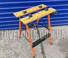 Верстак тиски SPARTA Стол слесарный тиски , стол раскладной