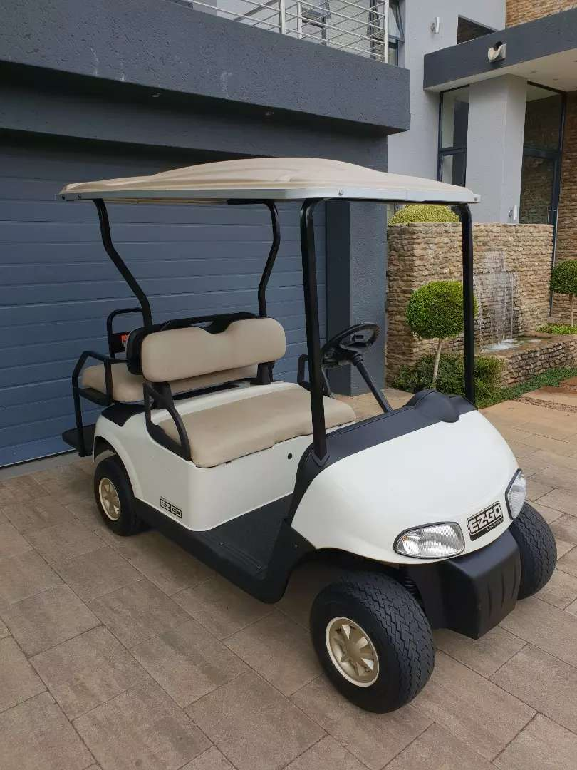 Ezgo Rxv Freedom 4 seater golf cart for sale 0