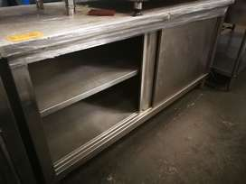 1.8m stainless steel cabinet