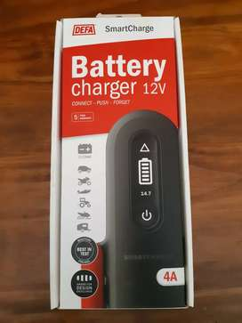 DEFA Smartcharge Charger 4A, New.