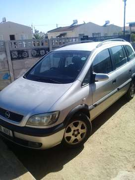 Opel Zafira 1.8i 5 speed manual. 7 seater.