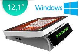 Windows POS-моноблок 12,1″ ПОС-система, сенсорный терминал для кафе