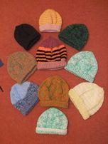 Детские шапочки, вязаные