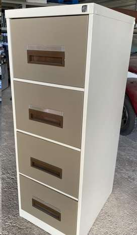 Steel Office Filing Cabinet - 4 Drawer File