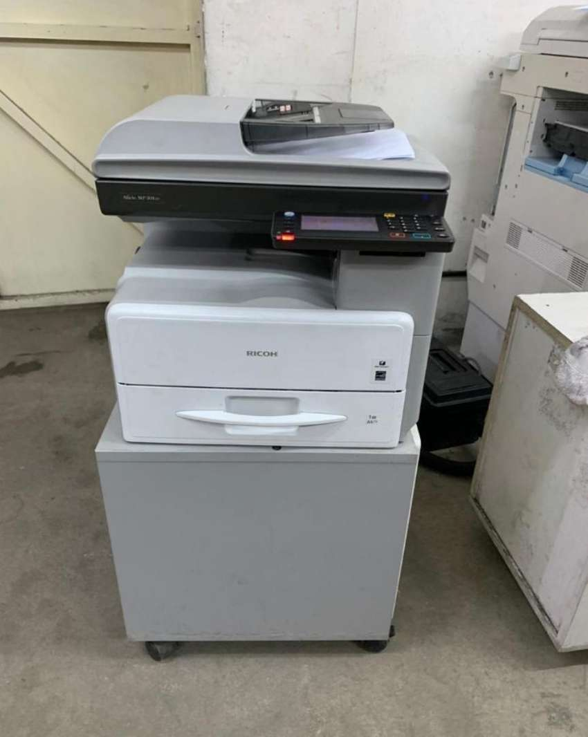 Justified Ricoh MP301 photocopier machine high quality 0