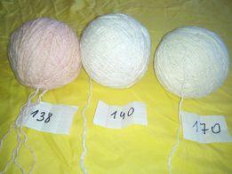 Продам нитки пряжа для вязания крючком и спицами