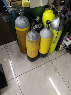 We sale dive cylinders and compressor for pcp guns