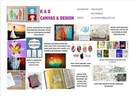 CANVAS AND DESIGN PRINTING