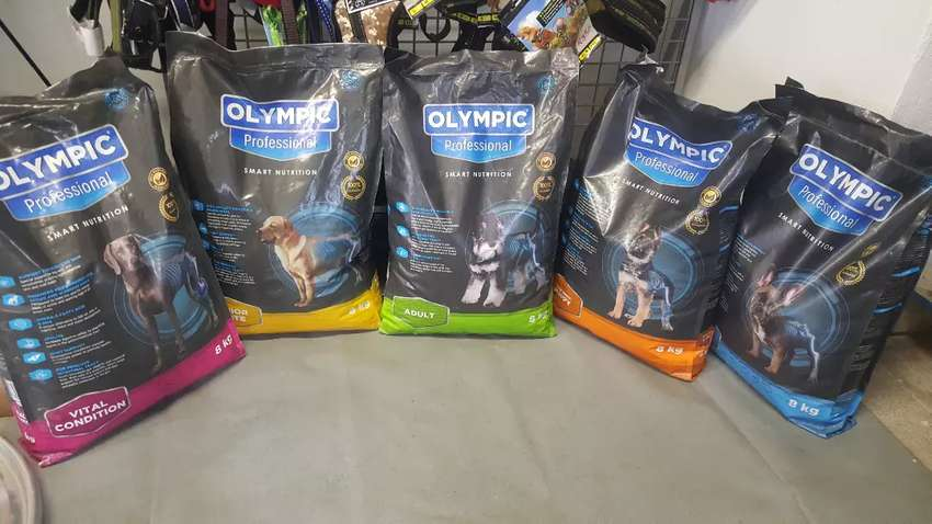 Olympic professional dog food at 279 quarry road east springfield