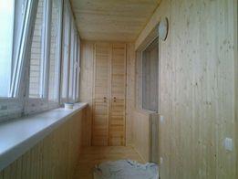 Ремонт обшивка балконов, лоджий под ключ утепление, , беседки, сауны