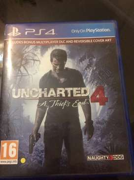 Ps4 Uncharted 4 Day one edition