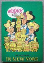 Mosaik, Die Digedags in New York. Wydanie 1978. Komiks po niemiecku.