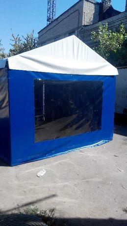 Торговые палатки, беседки, шатры, замена крыши на беседку