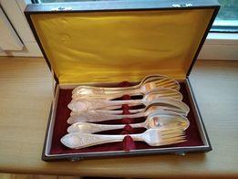 Мельхиоровый набор столовых приборов на 6 персон мельхиор ложки вилки
