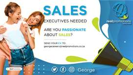 Entry-level Sales Consultants Wanted in George - Training provided