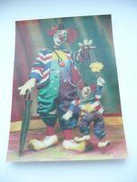 Стерео открытка с объемным изображением