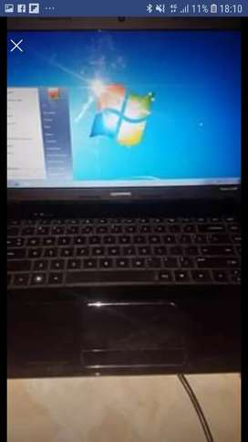 HP Dual Core laptop with Camera R 1800