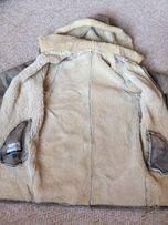 Теплая натуральная дубленка,куртка